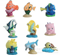 Wholesale Finding Nemo Famous Movie Accessories Figures Cartoon Action Figure Sea Story Child Gifts Set Set D0630