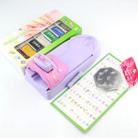 Nail Art Stamping Kit   Nail Art Colors Drawing Polish Kit Stamper DIY Printer Nail Stamping Printing Machine Set M020