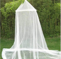 Wholesale Princess mosquito nets produce large dome ceiling court round off round off double dome mosquito net factory