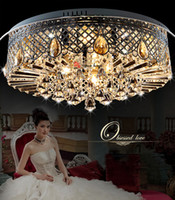 Wholesale Fast Shipping Modern European Chandeliers Ceiling Lamp Crystal Lights Fixtures Lighting After sales