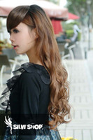 Wholesale Hair Extension Women s Long CurlCurlyWavy Clips On sexy stylish o1PcsLot W002
