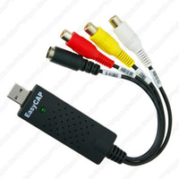 Wholesale A2 USB2 video Grabber Capture Adapter Stick with Audio Video Creator DVD Maker