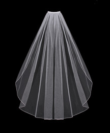Wholesale Custom Made Hot Sell Real Single Tier quot x72 quot Wedding Veil Bridal Veils DH6710