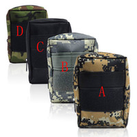 Wholesale Outdoor Modular Tactical Gear D Nylon Minor Waterproof For Cell Phone Paintball Tools Sundries Hunting Molle Bag Pouch