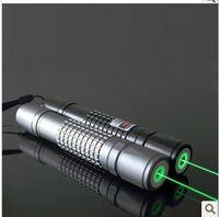 10000W poder foco ajustable linterna láser verde láser verde pluma del indicador