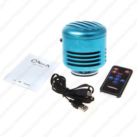 bass vibration speaker - A2 Mini Speaker FM Radio micro SD card MP3 USB HiFi BASS Portable Vibration Speaker