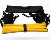 jump rope wholesale - New listing Football Training Ladder Agility Ladder Rope Ladder Jump Grid Ladder Ladder Of Energy factory supply