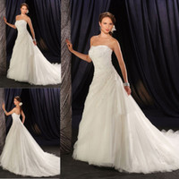 Model Pictures Strapless Sleeveless W139 New style hot sale strapless car bone flower bridal wedding dress