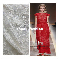 fabric mesh - cm width white big name clothing small flower embroidery lace fabric mesh solid flower dress fabrics
