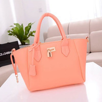 Wholesale Elegant Girls Women S Celebrity Tote Handbag Lock Shoulder Satchel Shop BAG
