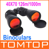 Wholesale 40X Magnification mm m m View Binoculars Telescope for Hunting Camping Hiking Outdoor Sports H9971