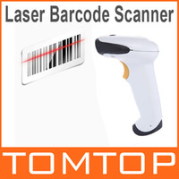Barcode Scanner A4 1200dpi Wired Laser Barcode Scanner Bar Code Scanning Reader With USB Cable Handheld c1782