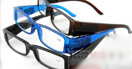 Wholesale New LED reading glasses plastic reading glasses fashion lighted reading glasses accept mixed order