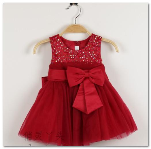 Baby Christmas Tutu Dress Baby Christmas Party Dress