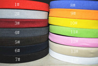 venda por atacado elastic tape-3/4 '' (20 mm) de 30 metros trançado Elastic Cord.14 tipos de cor fita optional.Elastic para sewing.Accessories