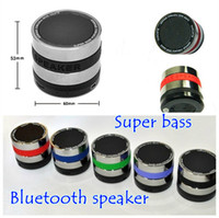 Wholesale Mini Super Bass Portable Wireless BlueTooth Speaker FM Radio TF Card Music Player with retail package