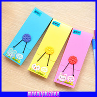 Wholesale Cute storage box elastic band Pencil Color Pencil men