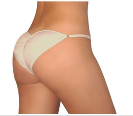 Wholesale 1pcs Brazilian Secret sexy Lingerier Underwear Padded Pantys Beautify Buttocks up Briefs Retail package