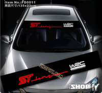 Wholesale Hot m reflective stickers carinthian fd0011 reflective FORD fox st line focus reflective style