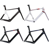 Wholesale NEW Carbon Fiber Road Bike Frameset FM055 SV size carbon bicycle frame IN STOCK colors available
