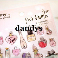 Wholesale Children s stationery A48 Fashion sweet D french perfume PVC decoration stickers DIY stickerdandys