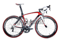 Wholesale 2013 newest model Full Carbon Fiber Road Bike Frame fit for di2 groupset cm white red Paint FM099