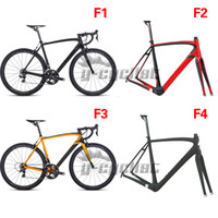 Wholesale 2014 newest Full Carbon Fiber Road Bicycle Frame for di2 groupset mechanical groupset SLIV size cm light weight frame