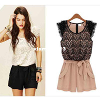 other other Women dresses 2013 summer fashion top brand design woman lace jumpsuit sexy elegant mini short club romper for women ladies siames plus size