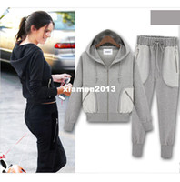 other other Long Sleeve 2013 autumn winter fashion women cotton hoody sweatsuits brand sport item design cute top for woman dress sweat suit plus size
