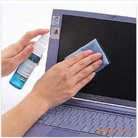 Wholesale 20pcs lotA4019 Li Jie in three piece Laptop LCD Screen Cleaning Kit Cleanerfree ship