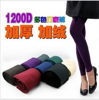 20pcs lotColored velvet leggings 1200D Brushed Cotton Flax n...