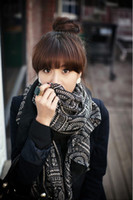 Wholesale 2013 Korean version of the literary circle Fan children retro national wind plaid scarf winter scarf