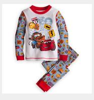best friends pajamas - Children s Outfits quot Caluby quot Boys Girls autumn summer Lycra Pajamas Children Clothing sets cars best friends Pyjamas X
