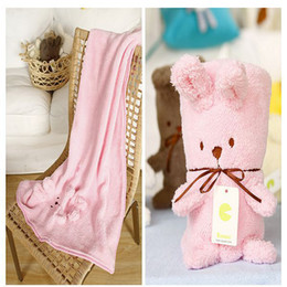 Wholesale Newborn Animal Blankets SUMMERQUILT Baby Blankets Infant Cartoon Blankets SONNPY Baby Rat Quilt Inch pc