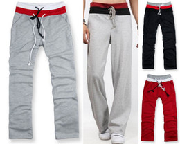 Wholesale Fashion Mens Cotton Blends Pants Comfortable Elastic Band Freely Adjust The Waist Bottom Casual Long Sweatpants