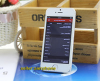 Wholesale Sophone i5s s smartphone MTK6515 IOS menu Nano sim Card inch IPS Retina Screen android OS Dual flash size