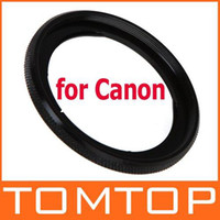 Wholesale 58mm Lens Filter Adapter Ring for Canon G1X Camera FA DC58C Black Drop Shipping