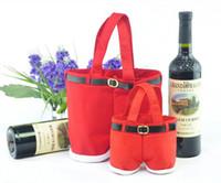 Santa pants style Christmas Candy gift bag for Wedding lover...