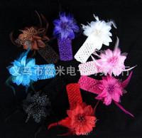 Cheap Hair Bows girls hair Best Silk Floral flower hair