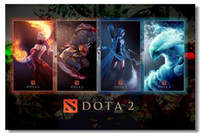Cheap LOL Dota 2 Heros Game Silk Poster Wall Poster Silk Canvas Poster 102hot Painting Room Decorate