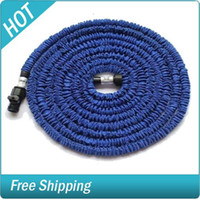 Wholesale 75FT Quality Expandable and Flexible Garden Hose Green Blue Water Pipes X Expanding Hose