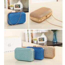 Wholesale Hot Sale Women s Handbag Retro Vintage Dinner Hard Evening Shine Glitter Shoulder Bag Chain Day Clutch Bag Cosmetic Mini Bag