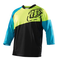 Wholesale new MTB Troy Lee Designs TLD T shirt Motocross motorcycle jersey Cycling Clothing T Shirts racing shirt riding off road jerseys