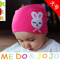 Unisex baby bow kit - Children bow bunny hat spring and autumn hat labeling kit lens cap baby hat beanie Queen