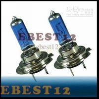 Wholesale 100pcs V W or W Xenon Headlight H7 Light Bulbs White LED Car lamp High Quality