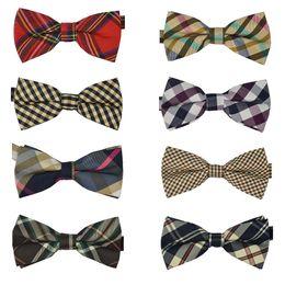Wholesale 10 High quality Men s Cotton geometric Design Bow ties Men Vintage Wedding party pre tie Bow tie