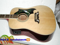 Wholesale Custom Shop Acoustic Electric Guitar DoveFishman Acoustic Electric Guitarbeautiful custom guitars from china