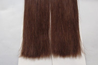 Wholesale 25pcs AAA Wefts and I tip for Hair Extensions Mixed Colours DHL