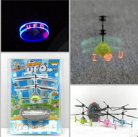 Blue rc bird - RC UFO Toy Remote Control Flying Bird Mixed Colors With Colorful Box