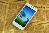 Wholesale New coming Cheap phone S4 I9505 Unlocked Android Inch G GSM Wifi FM Dual Camera Quad Band china post